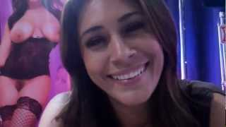 Quality time with Raylene at Exxxotica Chicago 2012