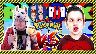 Pokemon Brick Bronze Battle! [Roblox] - GamerBoyJJM vs. G-Dad! - Team Battles Collaboration