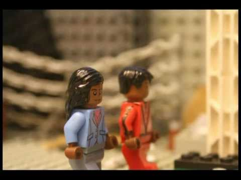 Michael Jackson s Thriller Tribute in LEGO