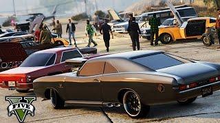 GTA 5 - Oldtimer Car Meet !