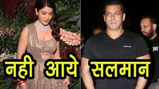 Anushka Sharma के Reception में नहीं पहुंचे Salman Khan, ये बड़े Stars भी रहे गायब