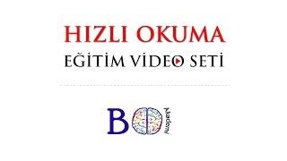 BO AKADEMİ  -  Hızlı Okuma Eğitim Video Seti Tanıtımı