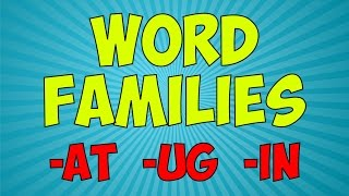 Workout With The Word Families 1 | Word Family Song | Jack Hartmann
