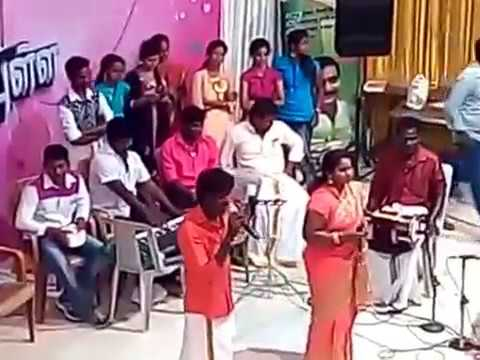 VAADI EN KARUTHA PULLA  gana Ilayaraaja presents Perambalur pongal celebration at jk magal