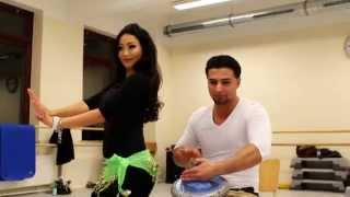 Jiny Garuli Diary 2014 (Part 3/3) - Bellydance Lesson with Jiny and Mohammad Mehrabi