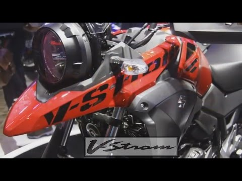 Suzuki V-Strom 250 - DL250 Concept   ''RED''