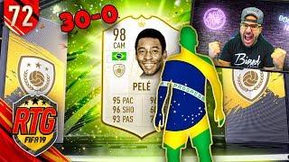 OMG I GOT PELE & I GOT 30-0!!!! - FIFA 19 Ultimate Team RTG #72
