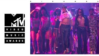 Rihanna - Rude Boy / What's My Name / Work (Live From The 2016 MTV VMA's)