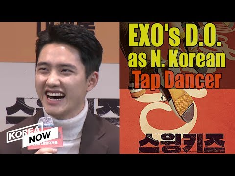 """EXO's Do Kyung Soo (D.O.) enchants press with tap dance for """"Swing Kids"""""""
