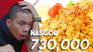 Nasi Goreng Rp.10,000 VS Nasi Goreng Rp.730,000 **Not ClickBait** #SaaihVS