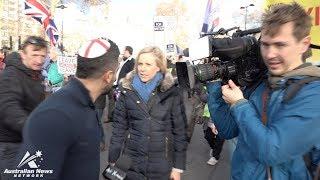 WATCH what happens when I confront Aussie #FakeNews in London