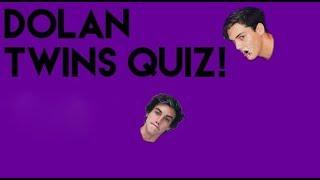 Dolan Twins Quiz! #1