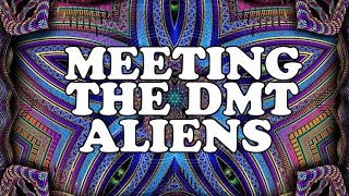 WHAT THE DMT ALIENS LOOK LIKE | My Experience (Cosmic Serpents, Psychedelic Entities, Astral Beings)
