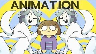 Undertale Animation - High on Tem Flakes [Music Video] Temmie