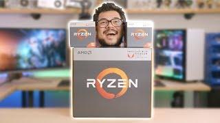 World's First Ryzen APU Unboxing!