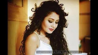 Neha Kakkar Signing Without Music Me Tera Boyfriend Tu Meri Girlfriend