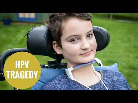 Xxx Mp4 12yo Left Paralysed After Suffering An Alleged Reaction To HPV Vaccine 3gp Sex