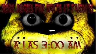 NUNCA JUEGUES FIVE NIGHTS AT FREDDY'S A LAS 3:00 AM | Creepypastas del mes de Octubre | 2016
