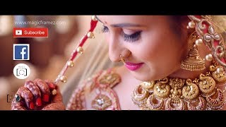 Most beautiful Bangalore Hindu Wedding teaser love romantic @ magicframez