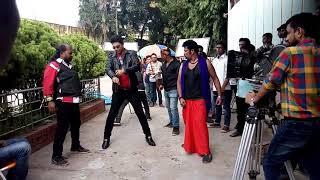 শাকিব খানের চালবাজ ছবির শুটিং shakib khan shooting