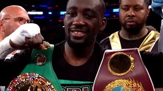 Terence Crawford is in his PRIME, Pacquiao fight & move to 147 needs to happen by end of 2018!!!