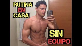 Rutina de Ejercicios en CASA ( sin equipo) - 4 MINUTOS EXPLOSIVOS!