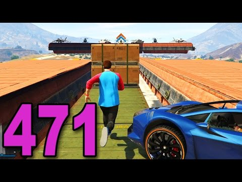Grand Theft Auto 5 Multiplayer - Part 471 - OBSTACLE COURSE OF DEATH