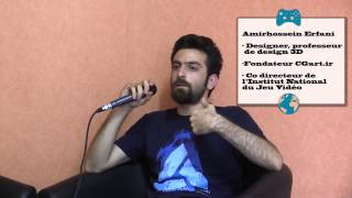 Video games in Iran (1/2). Developping games & Copyrighting (english sub)