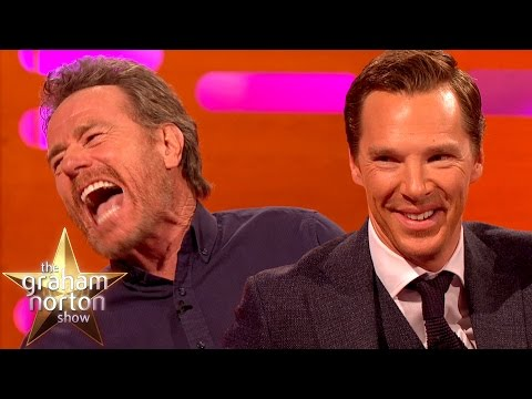 Benedict Cumberbatch and Bryan Cranston Both Like to Marry People The Graham Norton Show