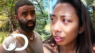 Constant Criticism Pushes Contestant To The Limit   Naked And Afraid