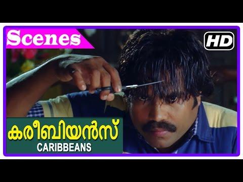 Caribbeans Malayalam Movie | Scenes | HD | Kalabhavan Mani gives order to Thara Kalyan