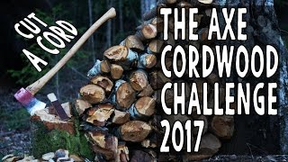 Official *AXE CORDWOOD CHALLENGE* 2017, Intro Video, Axes Only