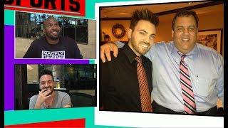 Chris Christie Has A Fan In Our Office! | TMZ Sports