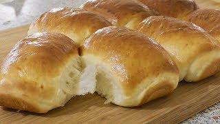 Dinner Rolls Recipe - Original Soft White Roll - Supper Soft Dinner Rolls - Milk Bread Recipe
