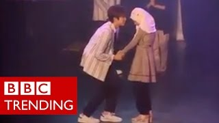 K-Pop hugs attract criticism for young Muslim fans