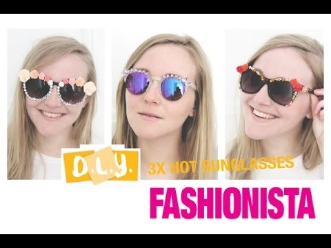 Xxx Mp4 Fashionista DIY 3x Hot Sunglasses 3gp Sex