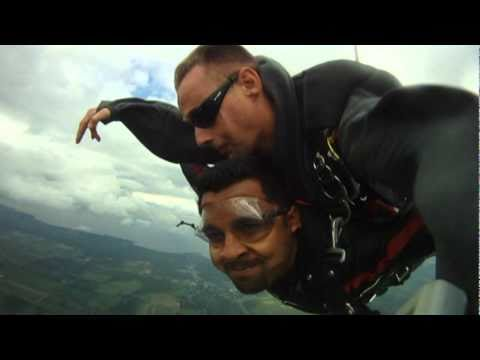 My first Tandem SkyDive... !Sky is the Limit!