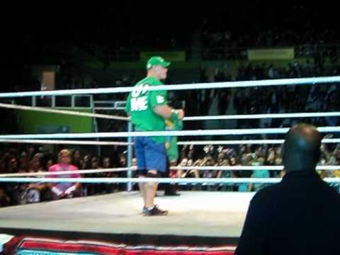 RAW no Brasil Entrada de John Cena e Dolph Ziggler by Tokinha