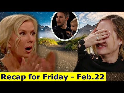 Xxx Mp4 BB Daily Recap Friday Feb 22th The Bold And The Beautiful Recap February 2019 3gp Sex
