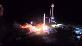 Upgraded Falcon 9 First-Stage Static Fire | 9/21/15