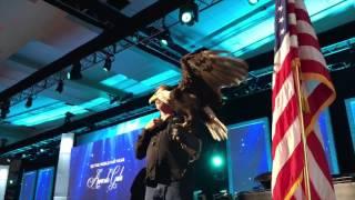 Starkey Gala 2017 with Bald Eagle