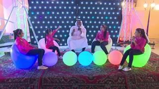 قناة اطفال ومواهب الفضائية حفل تدشين عطور الهام & عفاف