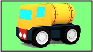 GAS TRUCK CONSTRUCTION PUZZLE Cartoons for Children - Videos for Kids - Kids Cars Cartoons