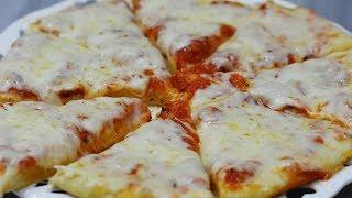 طرز تهیه پیتزا مارگاریتا ایتالیایی بدون فر | Ovenless Margherita Italian Pizza