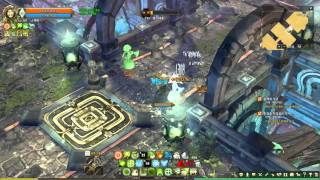 TOS Lv 130 Dungeon Residence of the fallen legwyn family solo play