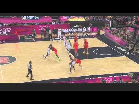 watch USA Highlights (All Baskets) vs Spain Finals