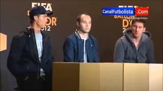 Cristiano ronaldo y Lionel Messi Si son Amigos!!!!