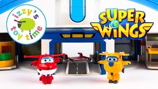 Toys for Kids | Super Wings World Airport Playset | Videos for Kids