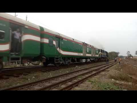 Sirajganj bazar bound Sirajganj Express is speedy crossing DACT RS.