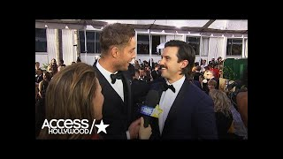 Did Milo Ventimiglia Almost Miss The 2017 Golden Globes? | Access Hollywood